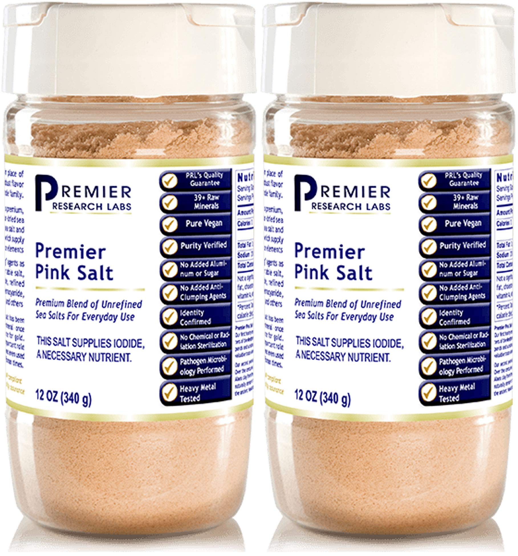 Premier Research Labs - Pink Salt, 12 Oz - 2 Pack by Premier Research Labs