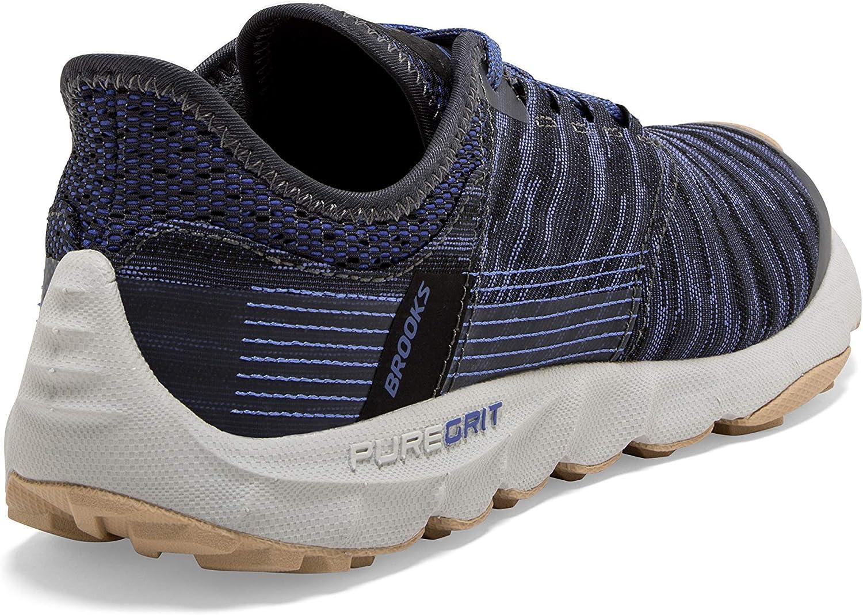 Brooks Puregrit 8 - Scarpe Da Corsa Donna Black Amparo Blue Ebony