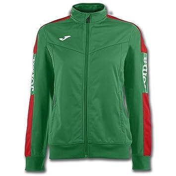 Joma Sudadera Champion IV Verde-Rojo Mujer - Sudadera, Mujer, Verde - (Verde-Rojo): Amazon.es: Deportes y aire libre