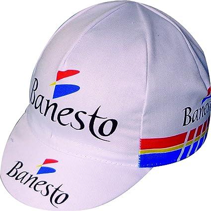 GORRA DE CICLISMO BANESTO