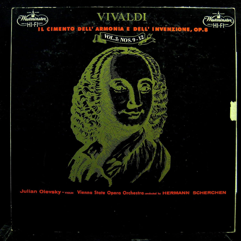 Julian Olevsky Vivaldi Il Cimento Dell Armonia E Dell Invensione Vol 3 vinyl record