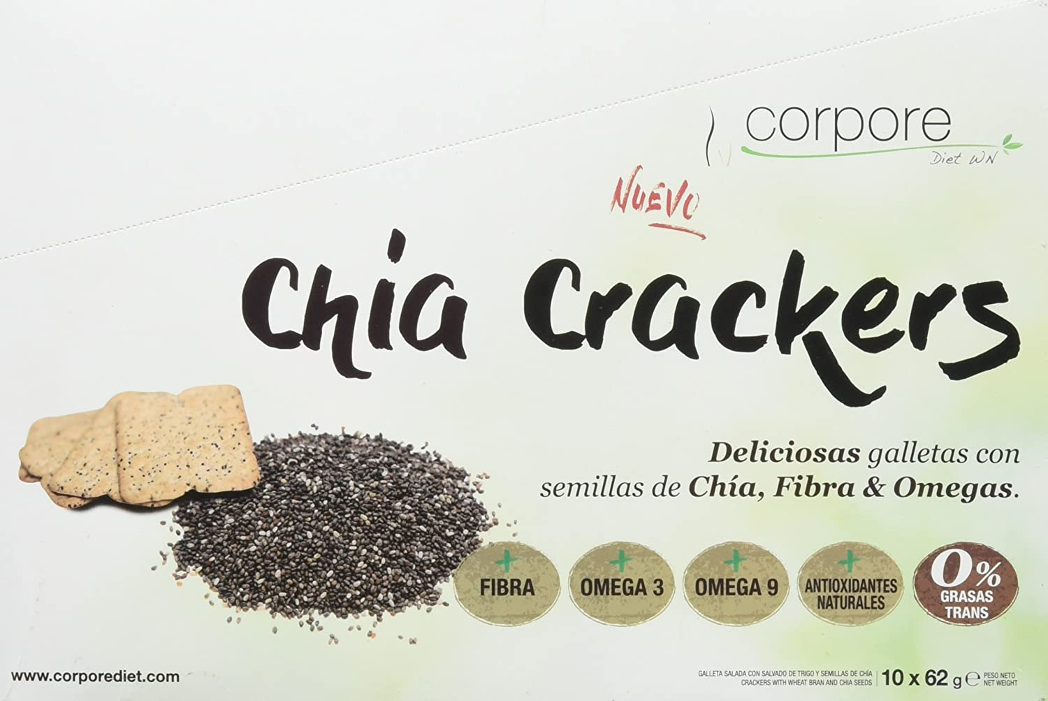 Corpore Diet Crackers - 700 gr