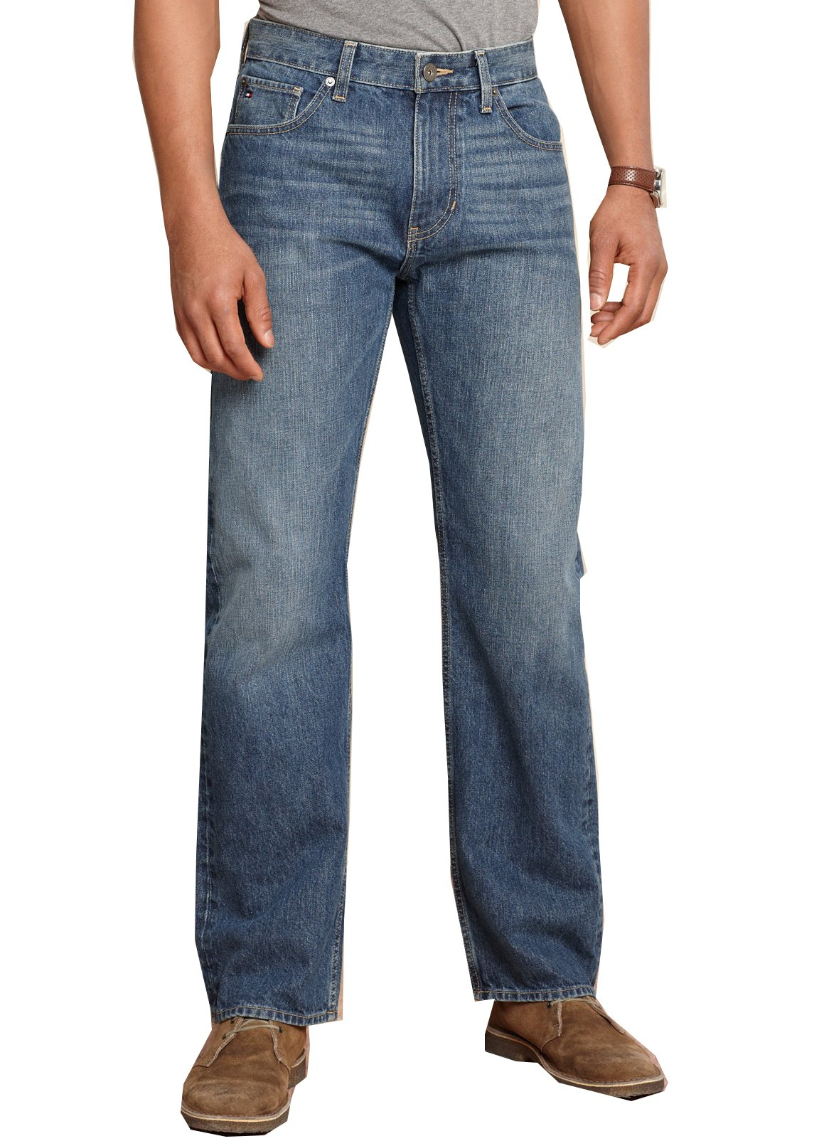 Tommy Hilfiger Men's Core Jeans, Varsity Freedom Relaxed Fit Jeans