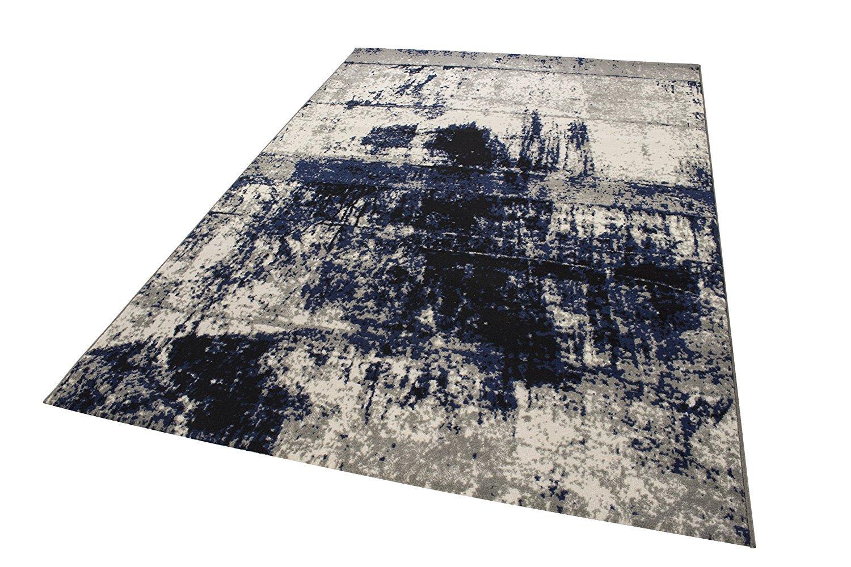 Andiamo Teppich Puerto Webteppich Webteppich Webteppich Designteppich Kurzfloorteppich Musterteppich –  120 x 170 cm, Creme B01N4P0EB0 Teppiche 8f5660