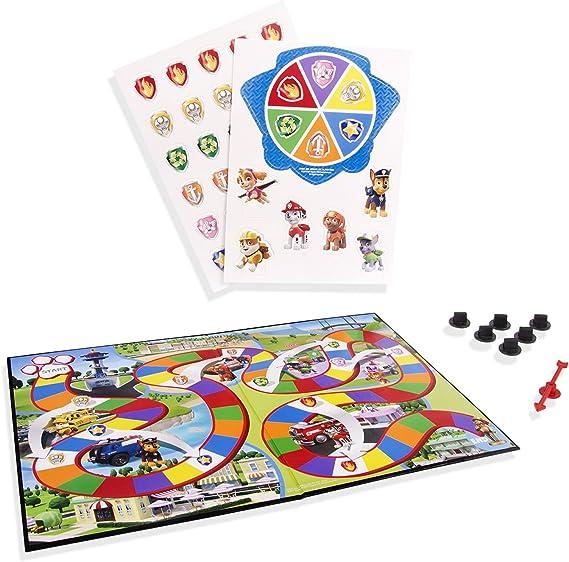 Paw Patrol – Adventure Board Game – Juego de mesa en Inglés de La Patrulla Canina: Amazon.es: Juguetes y juegos
