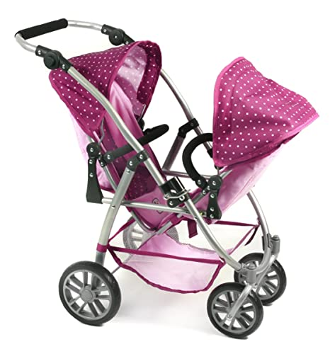 Amazon.es: Bayer Chic 2000 nbsp;689 29 - Carrito para muñeca, color morado/lila: Juguetes y juegos