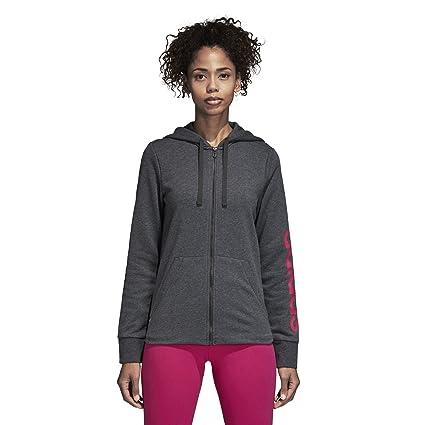 5264522649b33d Amazon.com  adidas Athletics Essentials Linear Full-Zip Hoodie ...