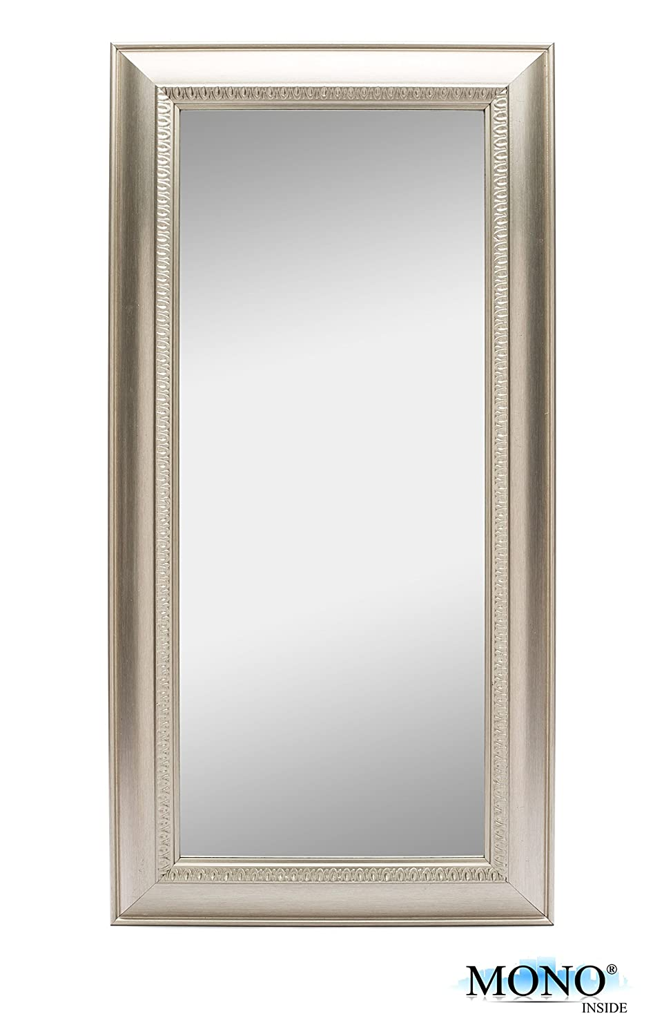 Amazon.com: MONOINSIDE Framed Decorative Wall Mounted Mirror ...