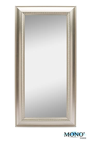 monoinside framed decorative wall mounted mirror classic and vintage style plastic frame 24quot