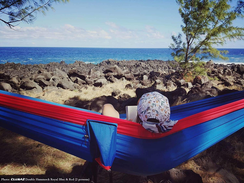 CLUSAZ Hamaca Premium Ultraligera 550g para Camping en Nylon ...