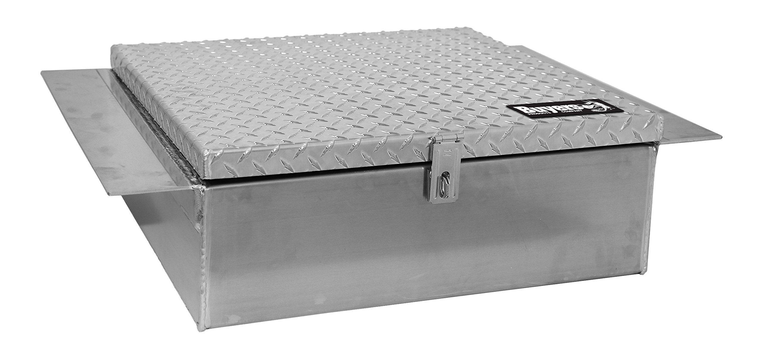 Buyers Products 1705190 Toolbox (9 x 22 x30, Aluminum, Between)