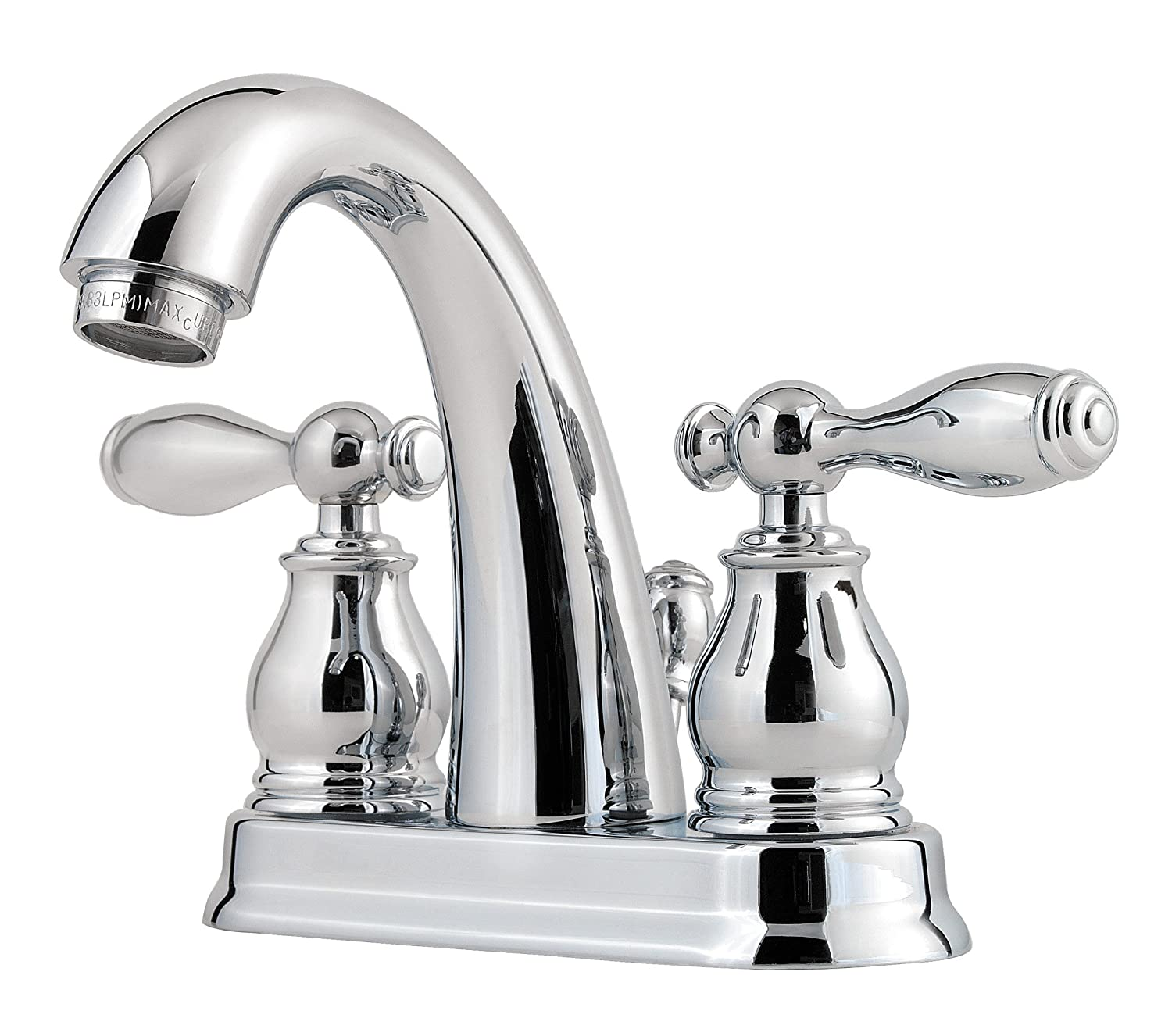 "Pfister Unison 2-Handle 4"" Centerset Bathroom Faucet, Polished Chrome 85%OFF"