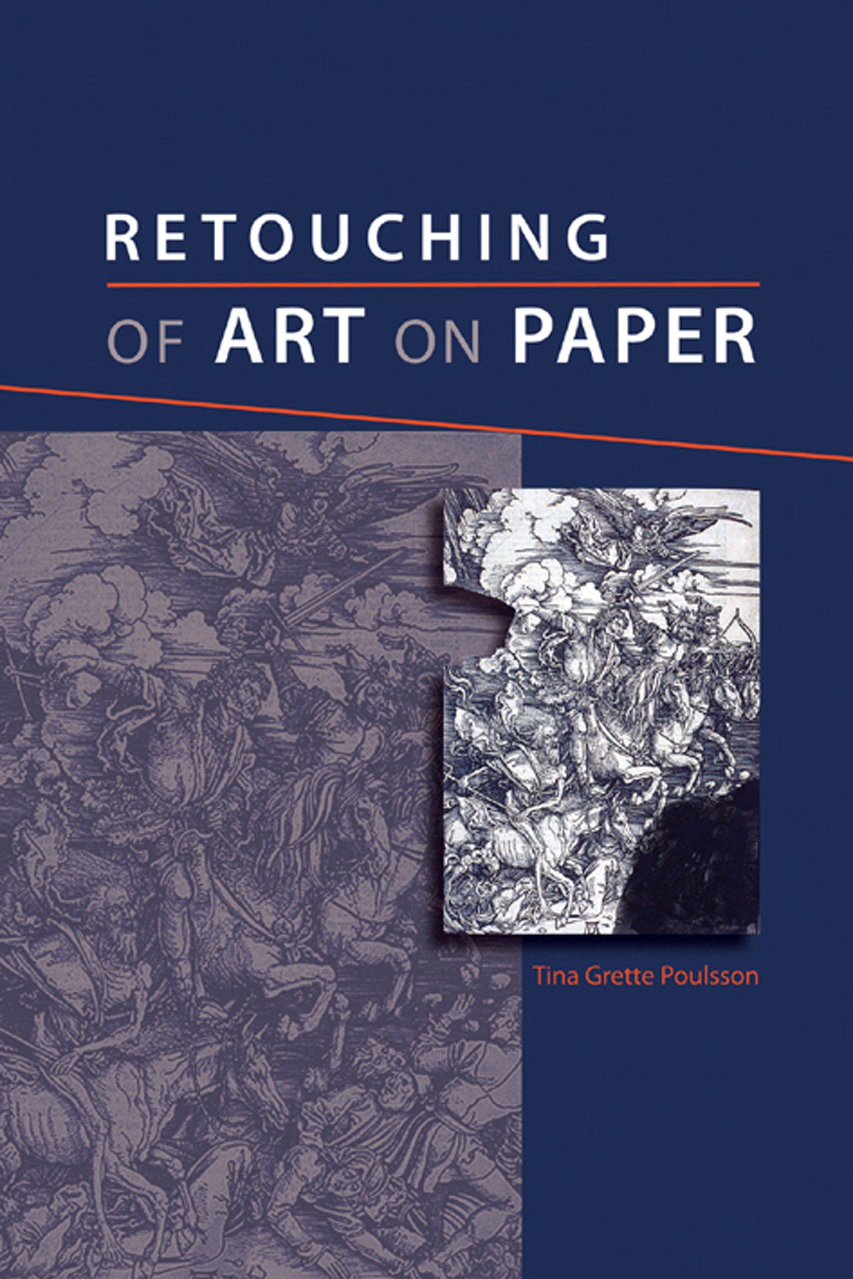 Retouching of Art on Paper por Tina Grette Poulsson