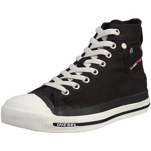 cd3700163f555b Diesel Magnete Exposure Mid, Women's Hi-Top Sneaker, Black (H0144),