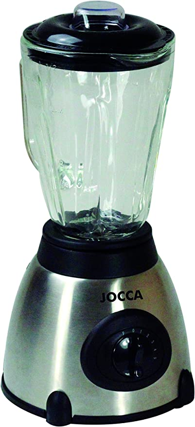 Jocca 5586 Batidora con Jarra de Cristal, Color Plata, 500 W ...