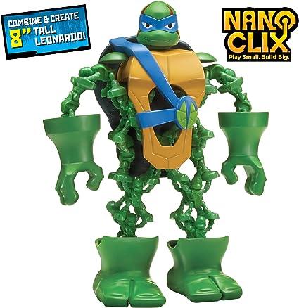 Rise of the Teenage Mutant Ninja Turtles Nano Clix Leonardo Figure