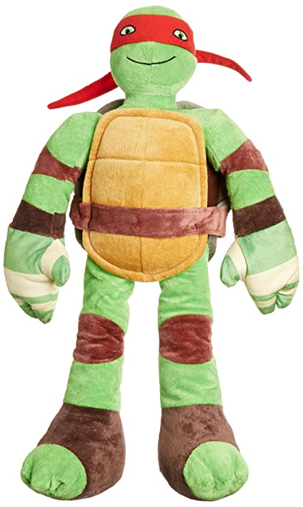 Jay Franco Nickelodeon Teenage Mutant Ninja Turtles Pillowtime Pal Pillow, Raphael