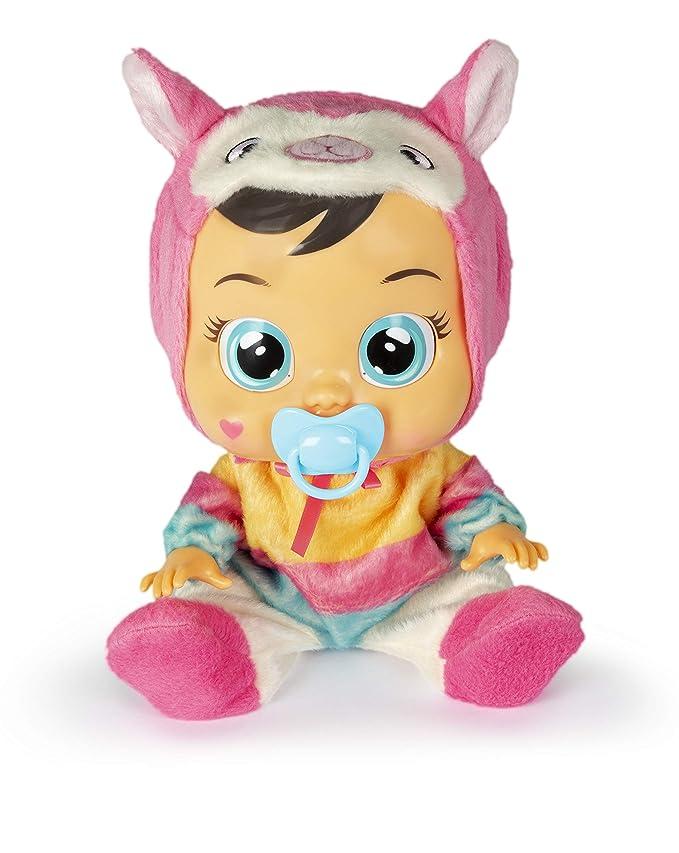 IMC Toys 91849 Lena - Muñeca Bebés Llorones, Multicolor