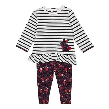 d82e72d2a4b170 J by Jasper Conran Kids Baby Girls' Multicoloured Rabbit Top and ...