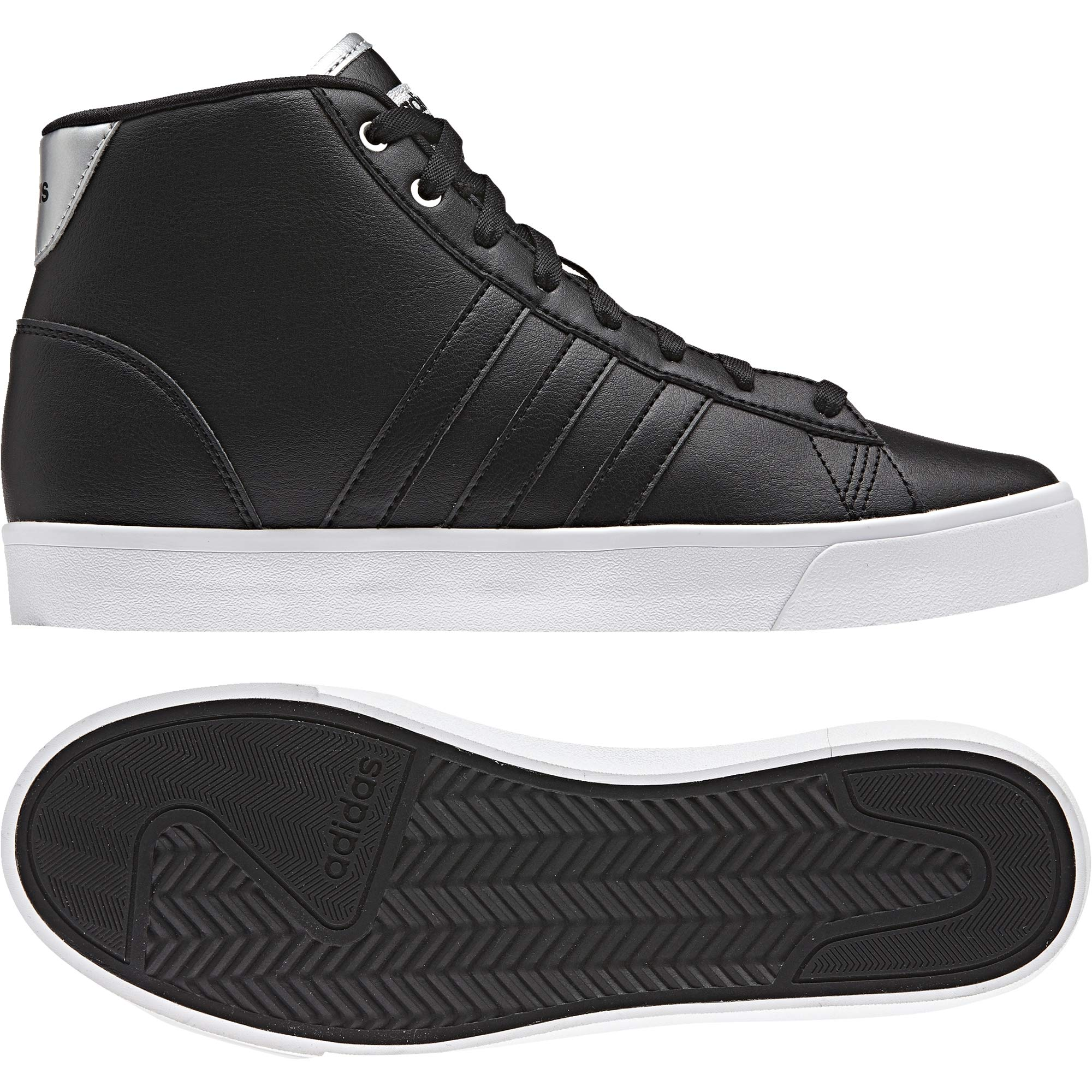 adidas Women's Cloudfoam Daily Qt Mid Aw4012 Hi-Top Trainers