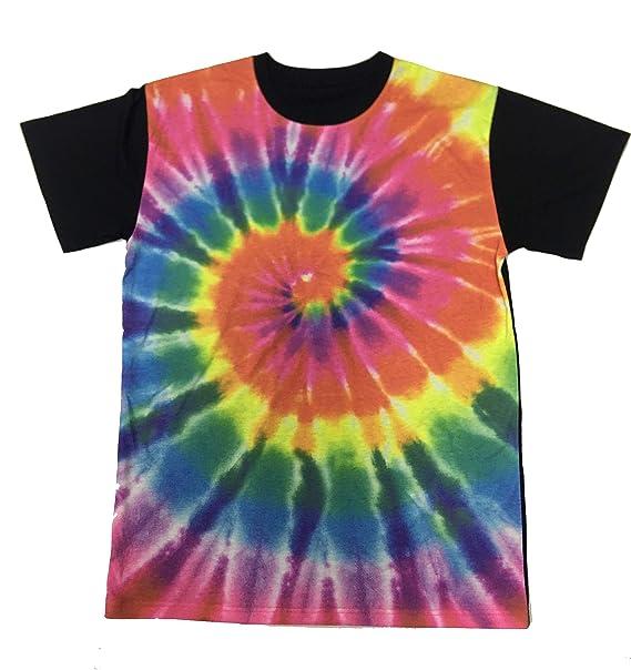 692239a53 Captivator Vibrant Tie-Dye Men's Sublimation T-Shirt | Amazon.com