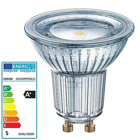 Osram Parathom PAR16 - Lámpara LED (4,3 W, GU10, A+,