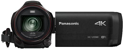 5 opinioni per Panasonic HC-VX980EG-K Videocamera Ultra HD, 4K, Nero