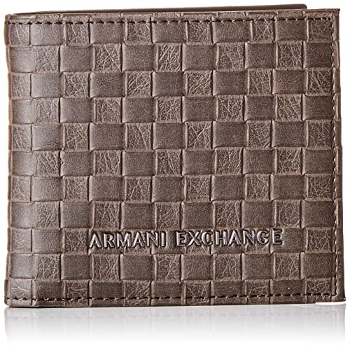 "TED Baker Bi-Fold Coin-POCKET /""harvys/'s Leather Wallet Nero"