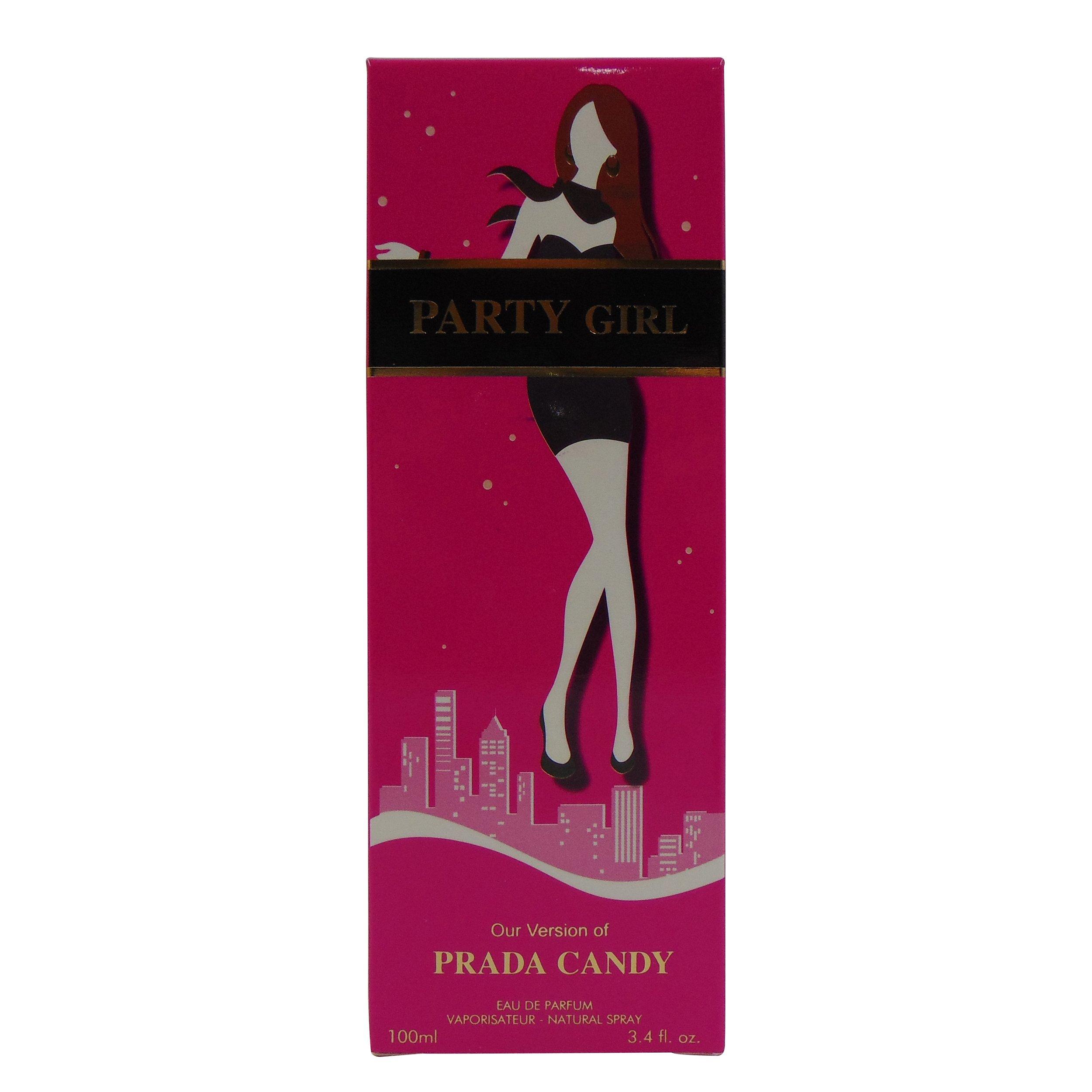 DISCO GIRL, Our Version of CANDY BY PRADA,3.4 fl.oz. Eau de Parfum Spray for Women, Perfect Gift