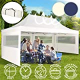 Carpa con Paredes 3x6 m | Plegable, Impermeable, con Protección Solar, Ideal para