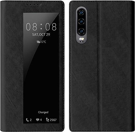 Huawei P30 Leader Schutzhülle Smart View Flip Tasche Elektronik