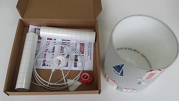 Plafoniera Da Esterno Con Doppia Lampada : Kit per realizzazione di paralumi con diametro 20 cm plafoniere