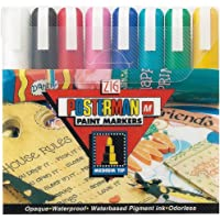 Zig Posterman Medium Tip Markers, Multicolor, 8-Pack