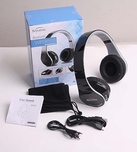 New Wireless Bluetooth Headphones Stereo Hi-Fi Bluetooth Headset