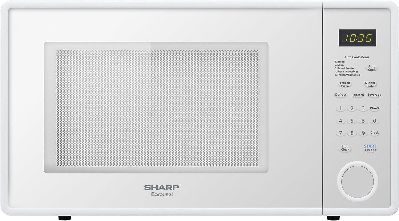 Amazon.com: Sharp Microondas (1.1 pies cúbicos.), Para uso ...