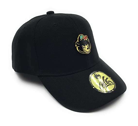 Gold Supreme   24k Gold Bear Dad Hat - Black at Amazon Men s ... 8fe94e7e76e
