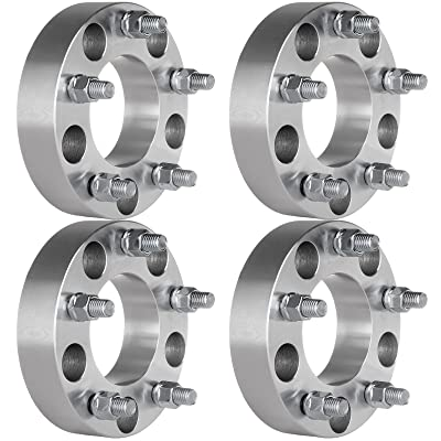 "ECCPP 4X 5x135 Wheel Spacers 5 Lug 1.5"" 5x135mm to 5x135mm Compatible with Ford Expedition F150 Lincoln Navigator Wheel Spacer with 14x2 Studs: Automotive"