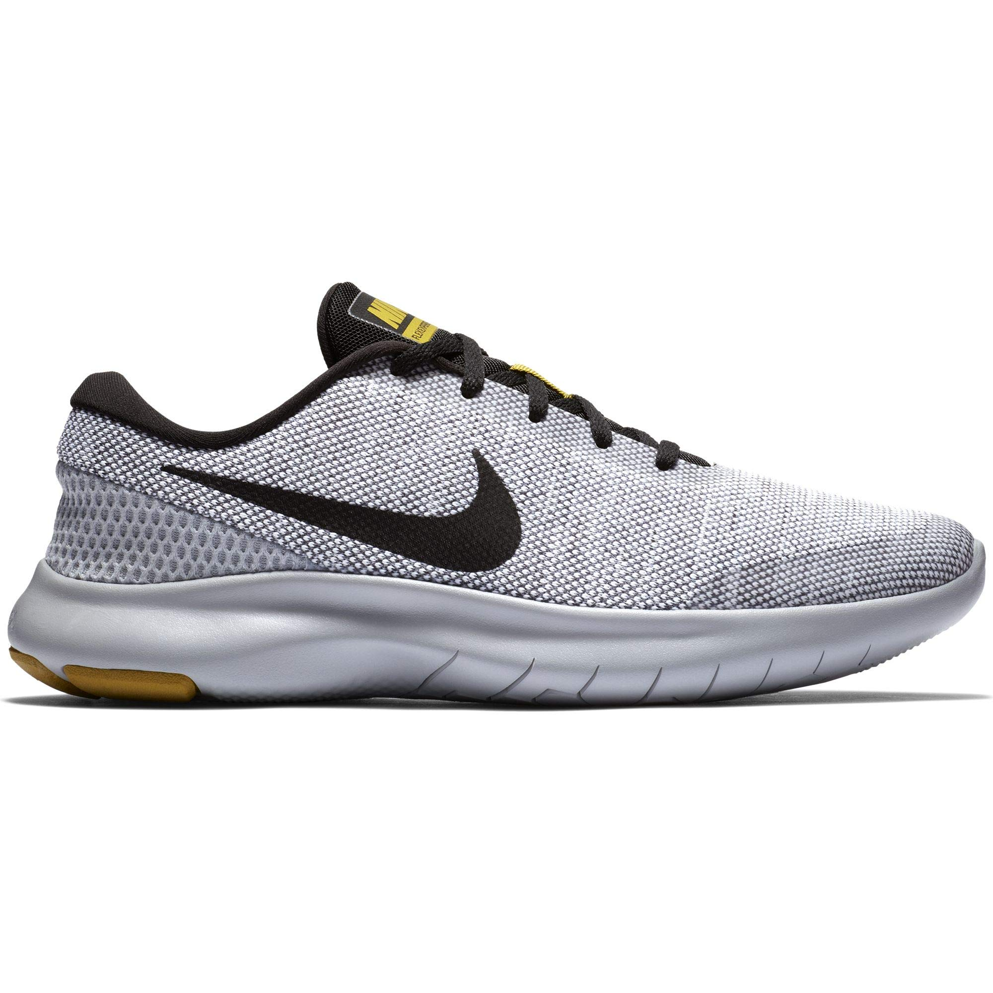 43acc1d3b8dc Galleon - Nike Men s Flex Experience RN 7 Running Shoe White Black Wolf Grey  Size 7.5 M US