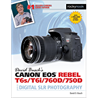 David Busch's Canon EOS Rebel T6s/T6i/760D/750D Guide to Digital SLR Photography (The David Busch Camera Guide Series) book cover