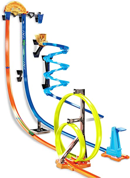 Amazon.com: Hot Wheels Track Builder Vertical Launch Kit: Toys & Games