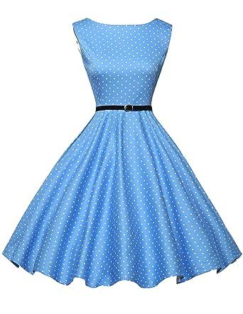 GRACE KARIN 50s Retro Vintage Rockabilly Kleid Partykleider ...