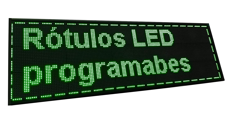 Cartel LED PROGRAMABLE (160x48 cm + Sonda Temperatura ...