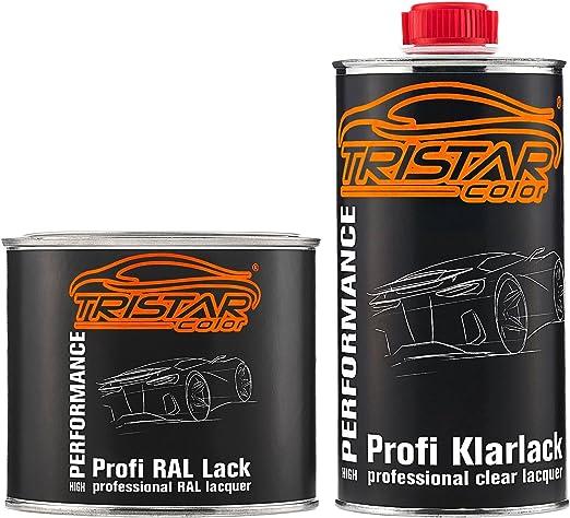 Tristarcolor Ral 1036 Perlgold Perl Autolack Seidenmatt Dose Inkl Klarlack 1 0 Liter 1000 Ml Auto