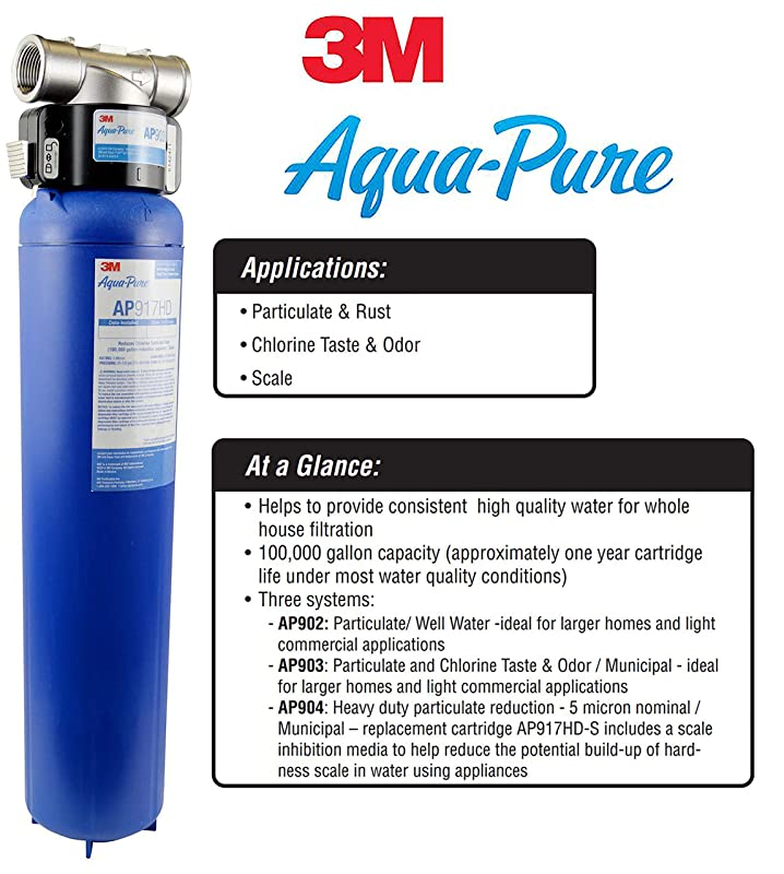 3M Aqua-Pure AP903 Water Filter Reviews