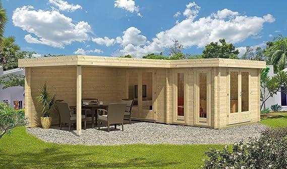 Tejado Plano Jardín Casa Marsella de 44 ISO impregnación a partir de tono Sal verde: Amazon.es: Jardín