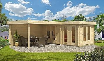 Tejado Plano Jardín Casa Marsella de 44 ISO impregnación a partir de tono Sal verde