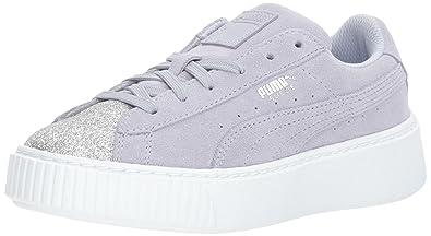 e578ca98b40 PUMA Kids  Suede Platform Glam Sneaker