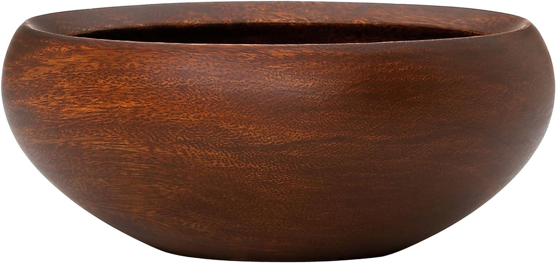 Dansk Wood Classics Salad Bowl, 0.50 LB, Brown