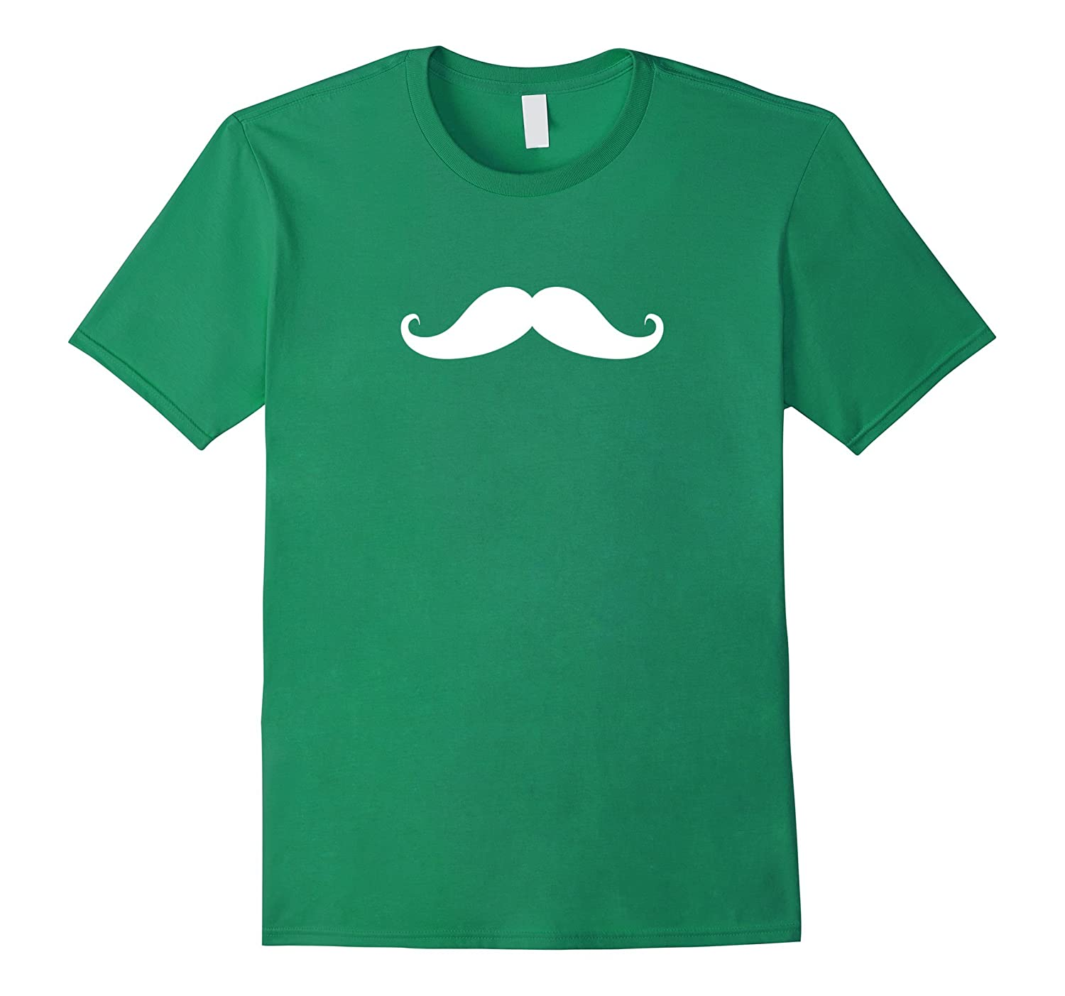 Green Mustache T-Shirt-TH