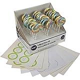 Wilton 1006-2975 Multicolor Pastel Lollipop Favor Kit, 24 Count